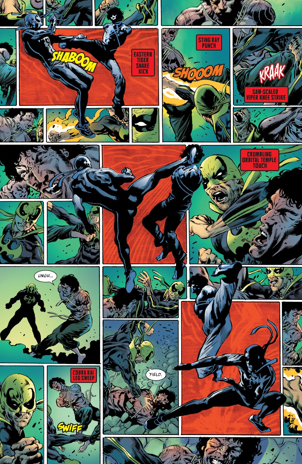 Iron Fist (2017) Issue #3 #3 - English 17