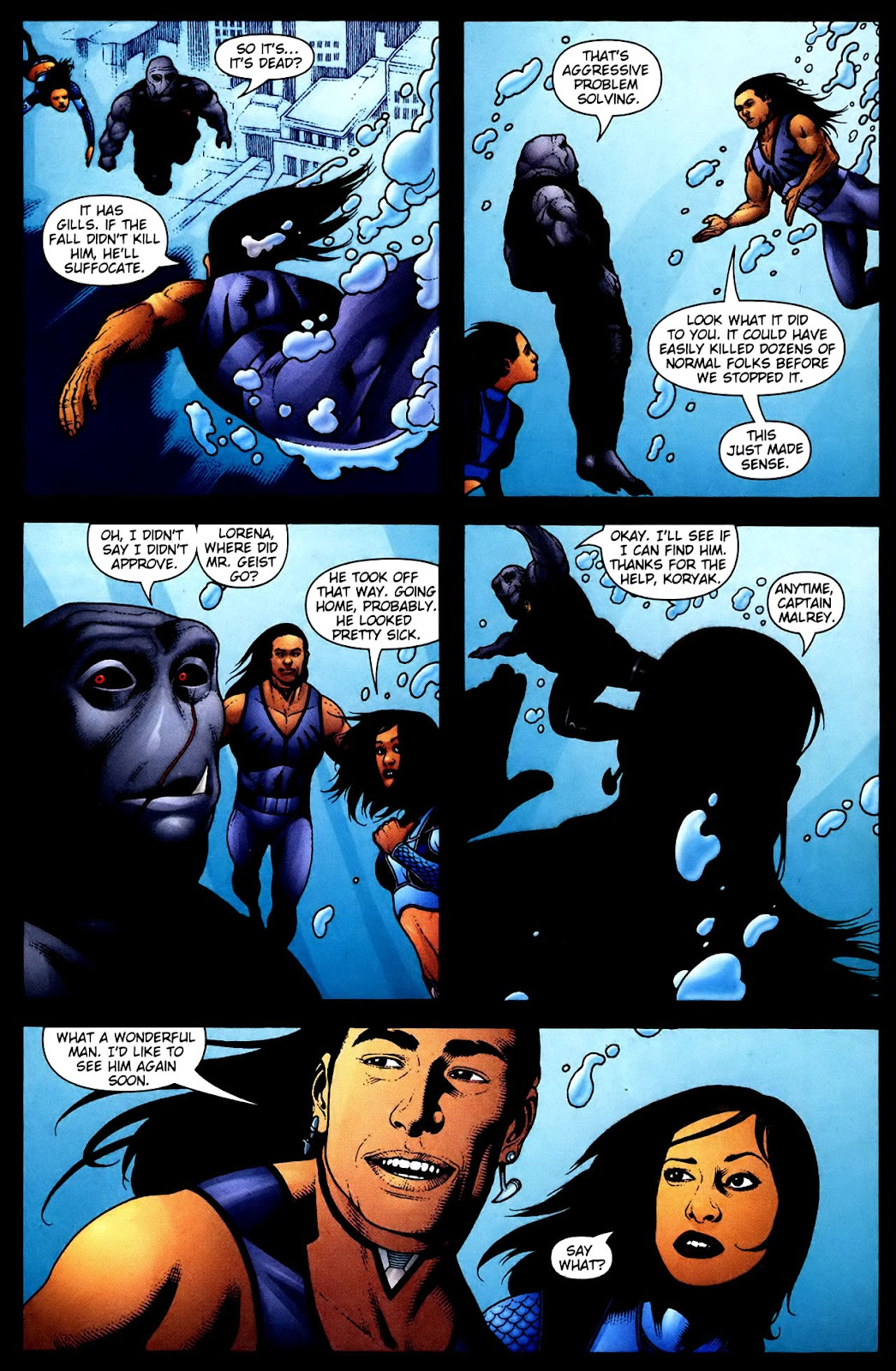 Aquaman (2003) Issue #34 #34 - English 21