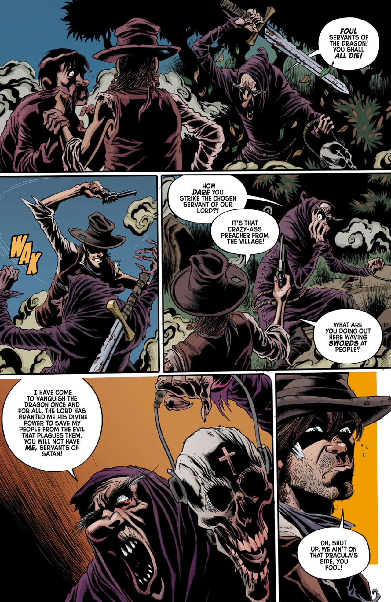 Read online Billy the Kid's Old Timey Oddities and the Orm of Loch Ness comic -  Issue #3 - 14