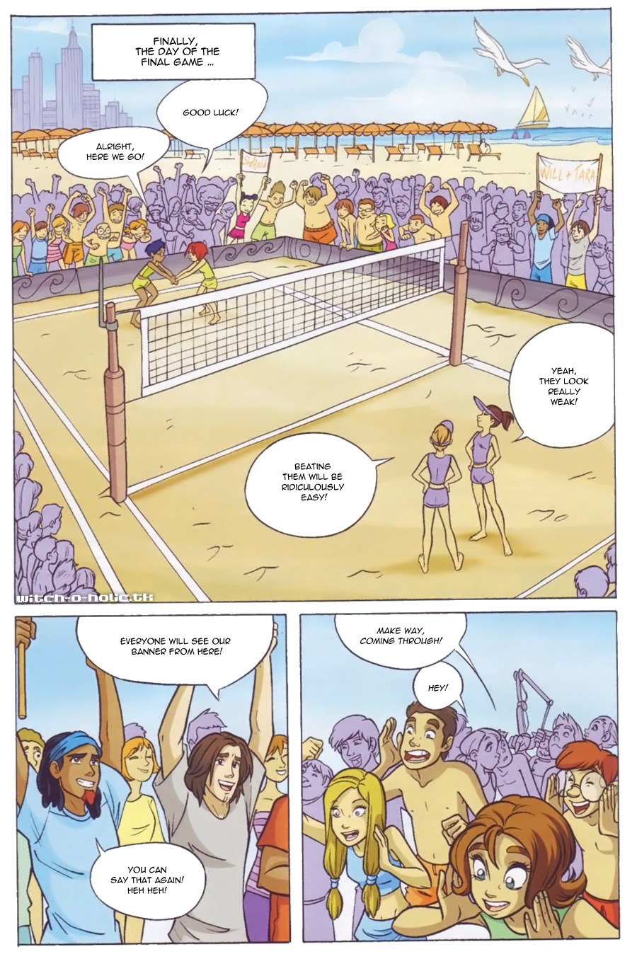 Read online W.i.t.c.h. comic -  Issue #136 - 22