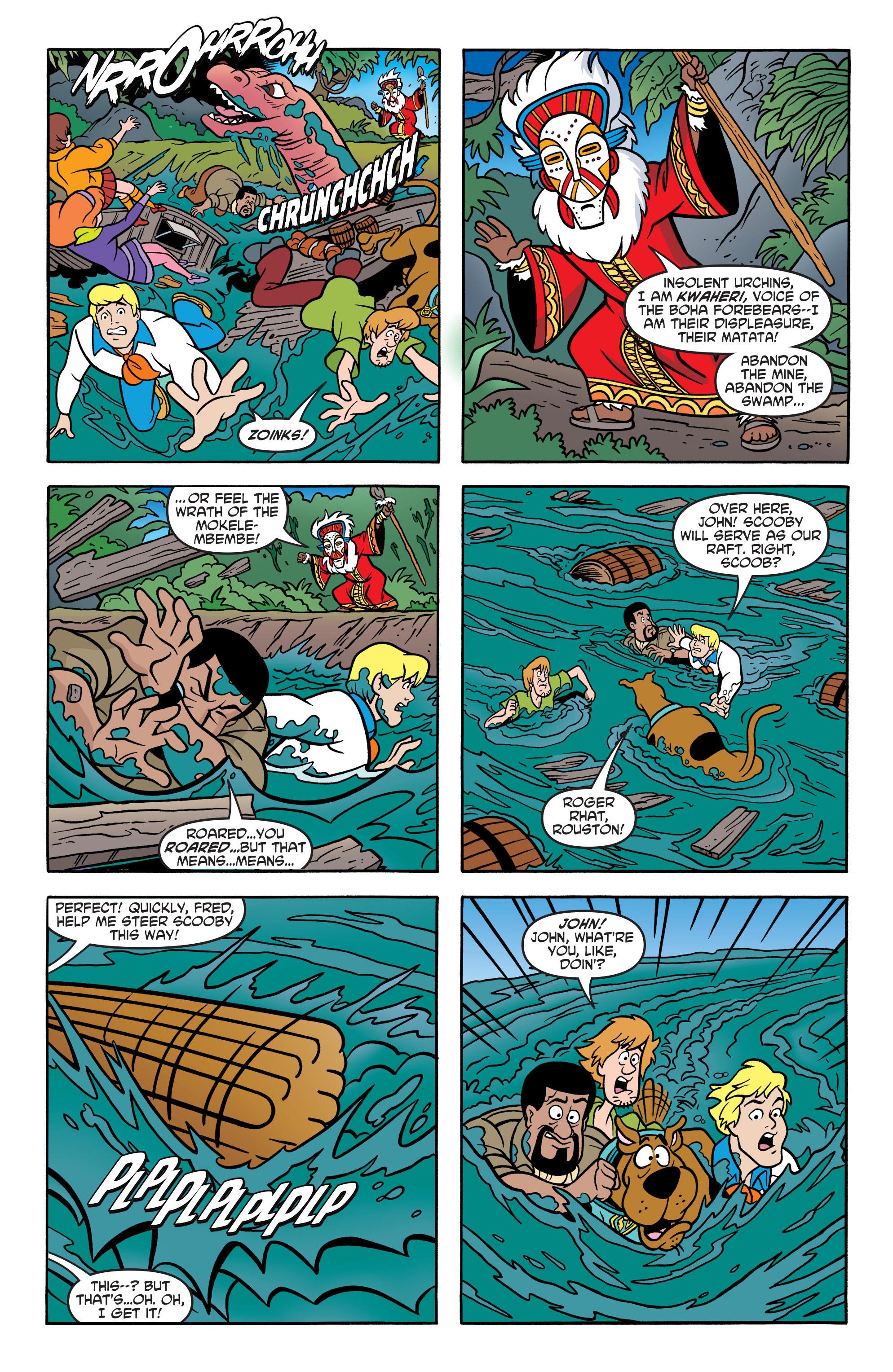 Read online Scooby-Doo: Where Are You? comic -  Issue #67 - 15