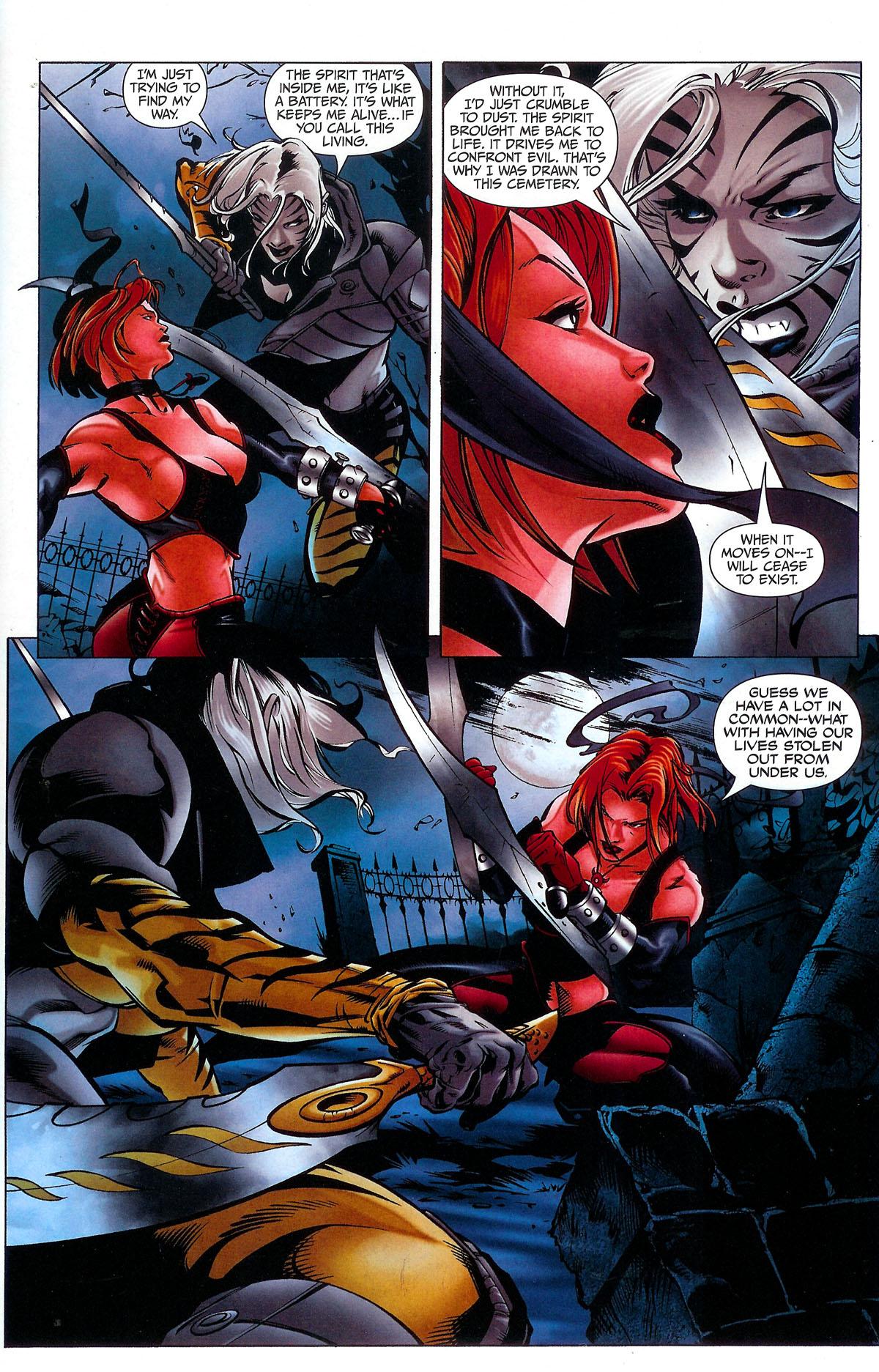 Read online BloodRayne: Dark Soul comic -  Issue # Full - 10