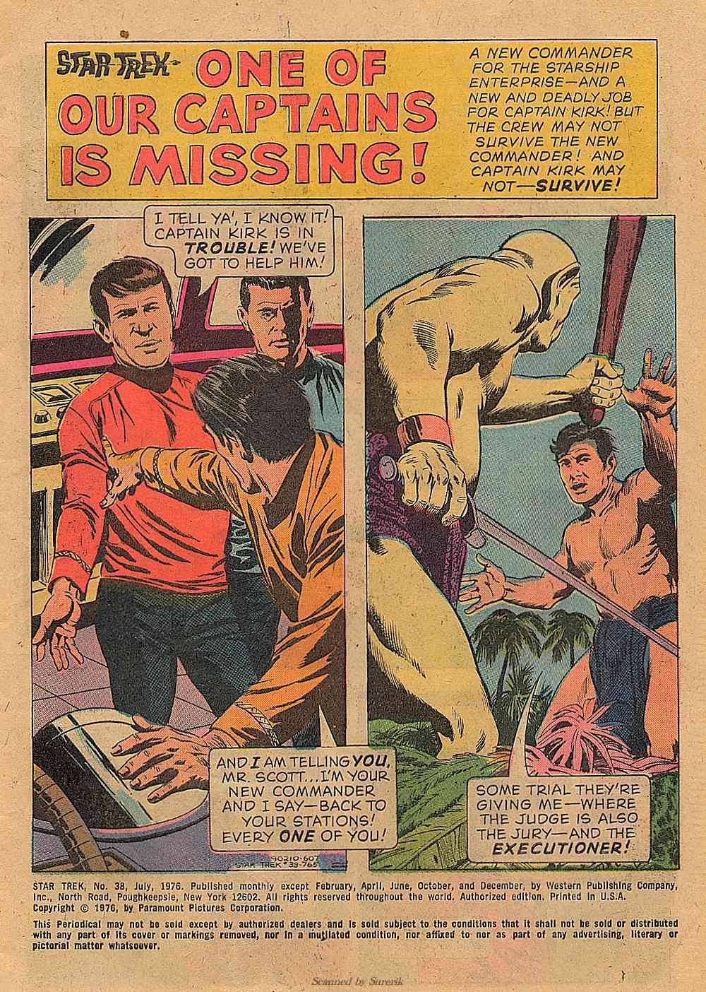 Star Trek (1967) Issue #38 #38 - English 2