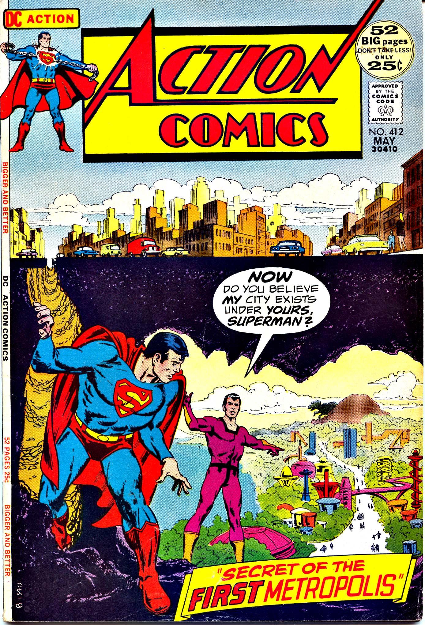 Action Comics (1938) 412 Page 1