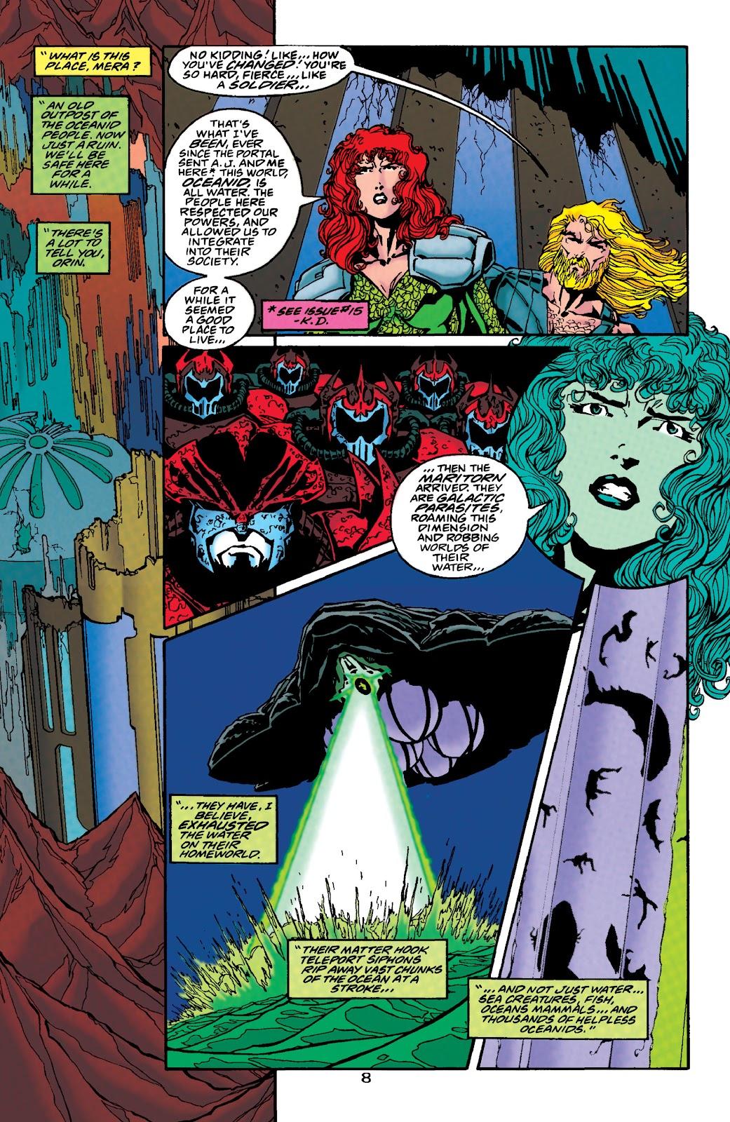 Aquaman (1994) Issue #48 #54 - English 8