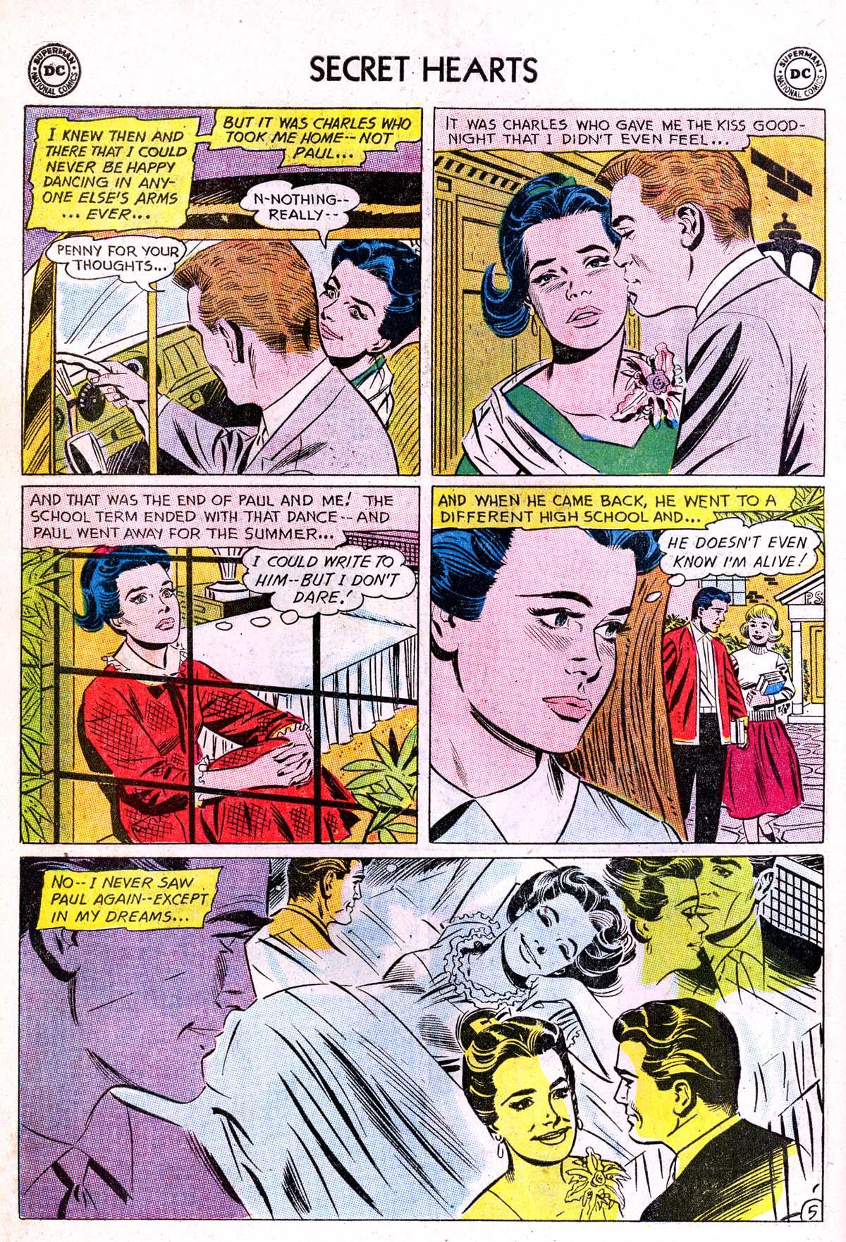 Read online Secret Hearts comic -  Issue #85 - 14