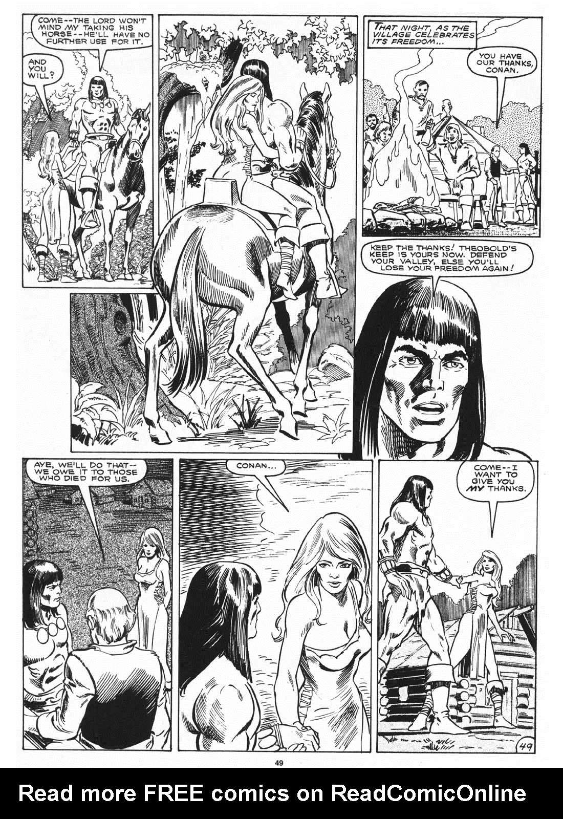 The Savage Sword Of Conan Issue #171 #172 - English 51
