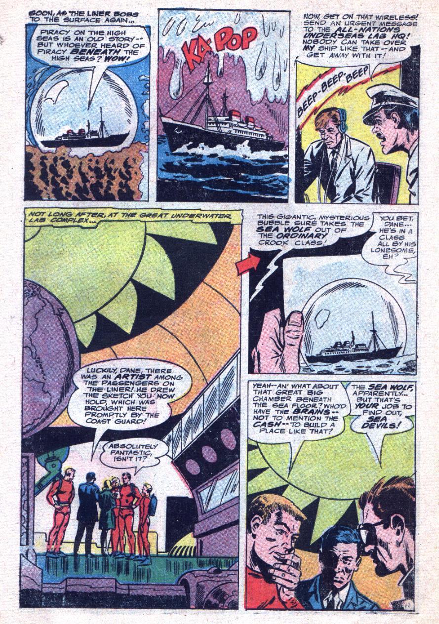 Read online Sea Devils comic -  Issue #33 - 19