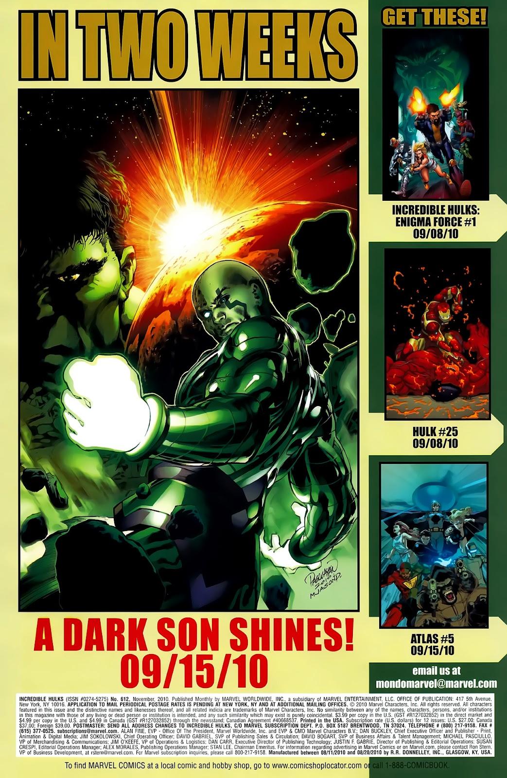 Incredible Hulks (2010) Issue #612 #2 - English 35