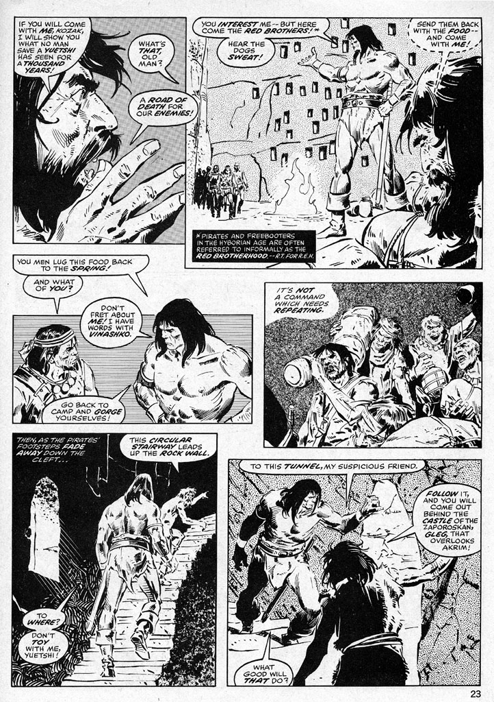 The Savage Sword Of Conan Issue #38 #39 - English 23