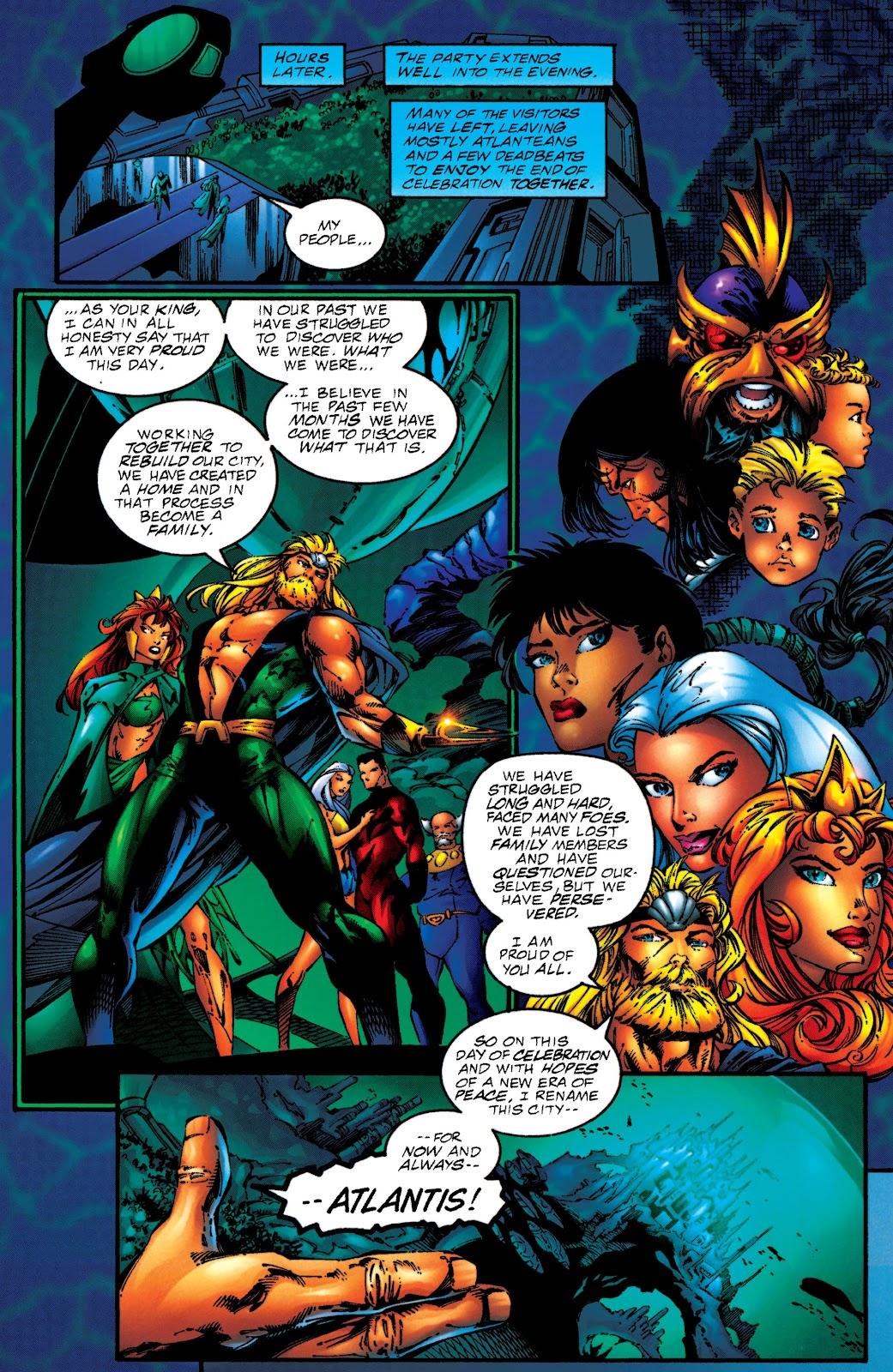 Aquaman (1994) Issue #50 #56 - English 11
