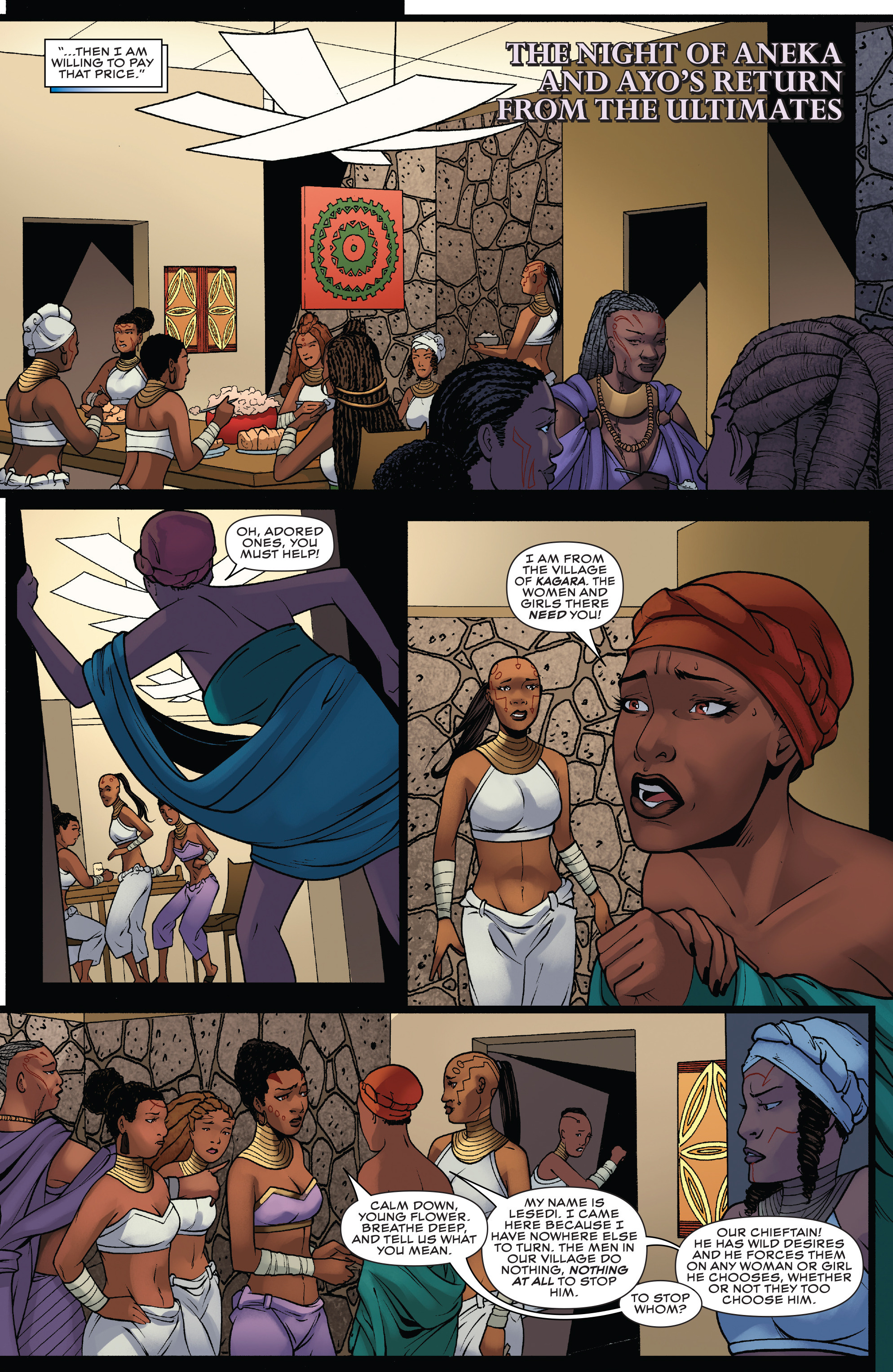 Read online Black Panther: World of Wakanda comic -  Issue #4 - 8