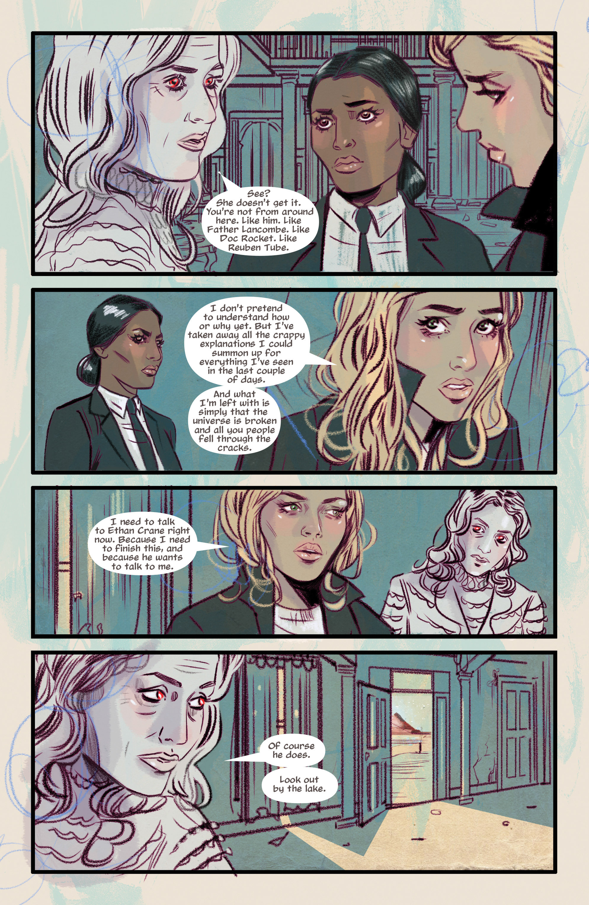 Read online Supreme Blue Rose comic -  Issue #7 - 5