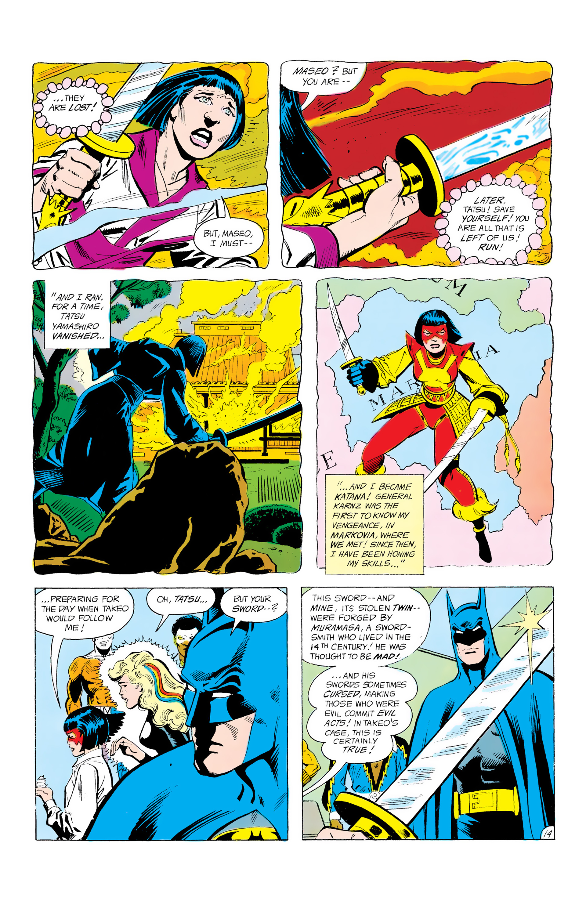 Batman and the Outsiders (1983) 12 Page 14