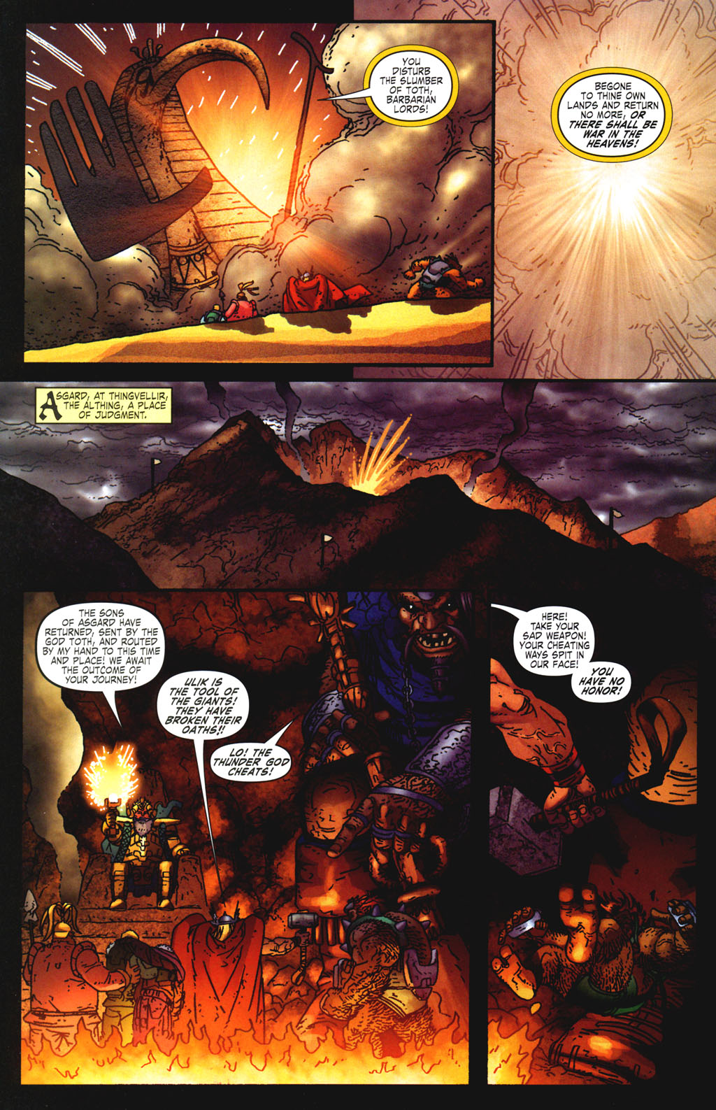 Read online Thor: Blood Oath comic -  Issue #6 - 15