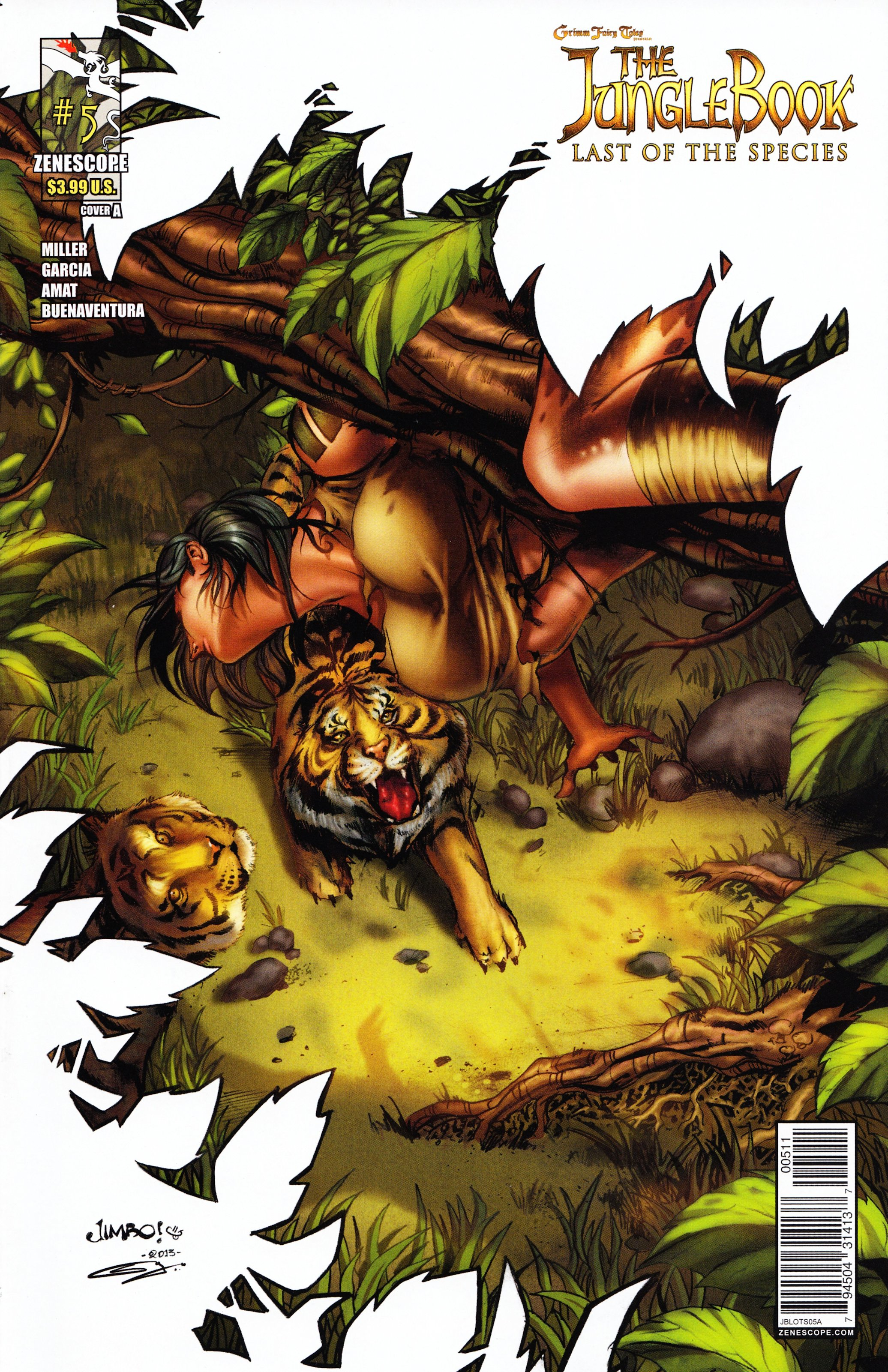 Grimm Fairy Tales presents The Jungle Book: Last of the Species 5 Page 1