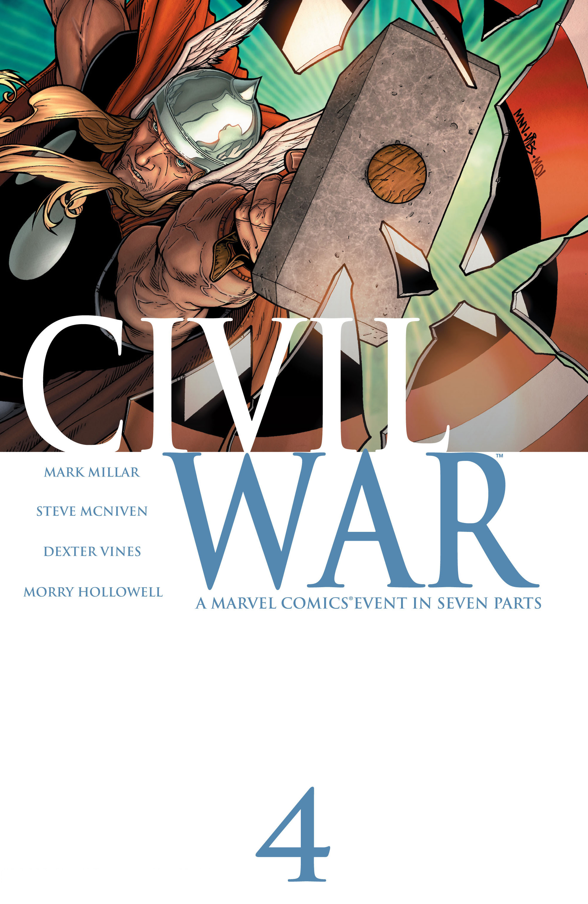 Civil War (2006) 4 Page 1