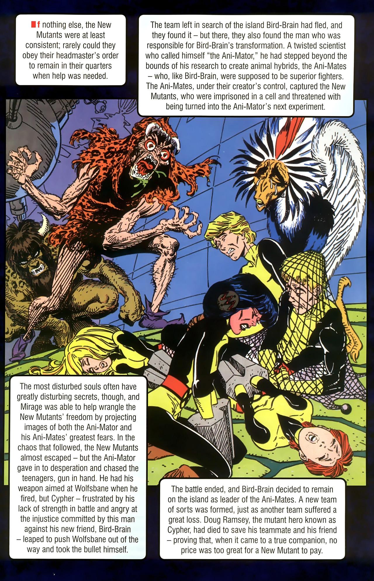 Read online New Mutants Saga comic -  Issue # Full - 27