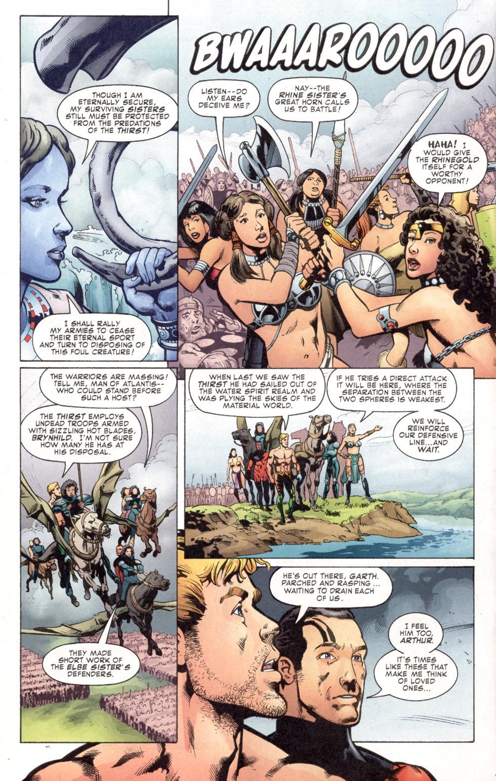 Aquaman (2003) Issue #7 #7 - English 11