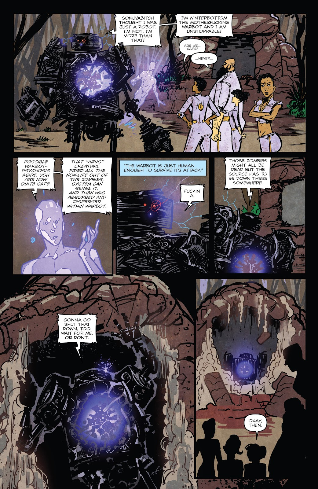 Zombies vs Robots (2015) Issue #6 Page 12