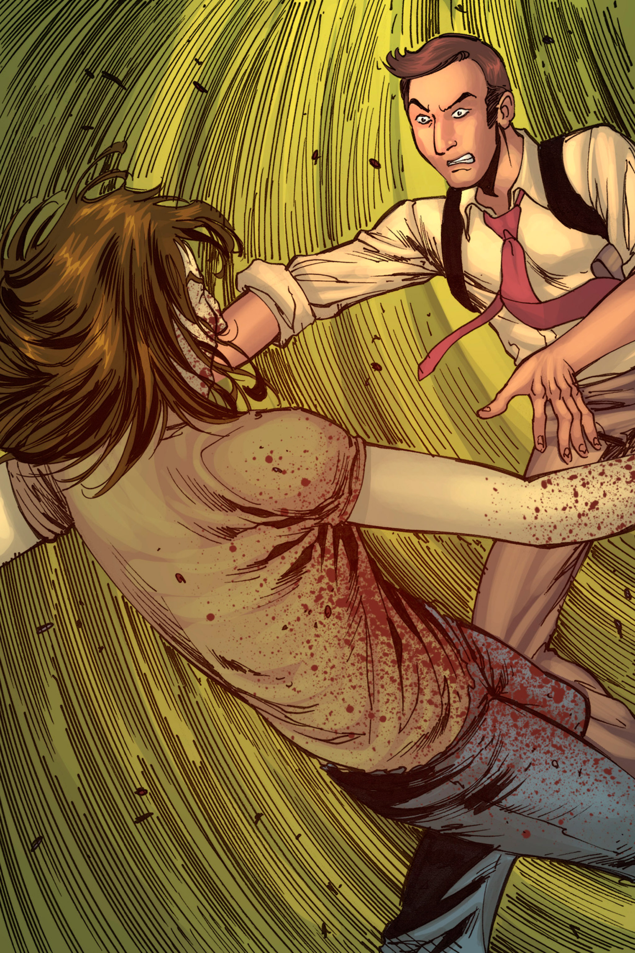Read online Z-Men comic -  Issue #1 - 153