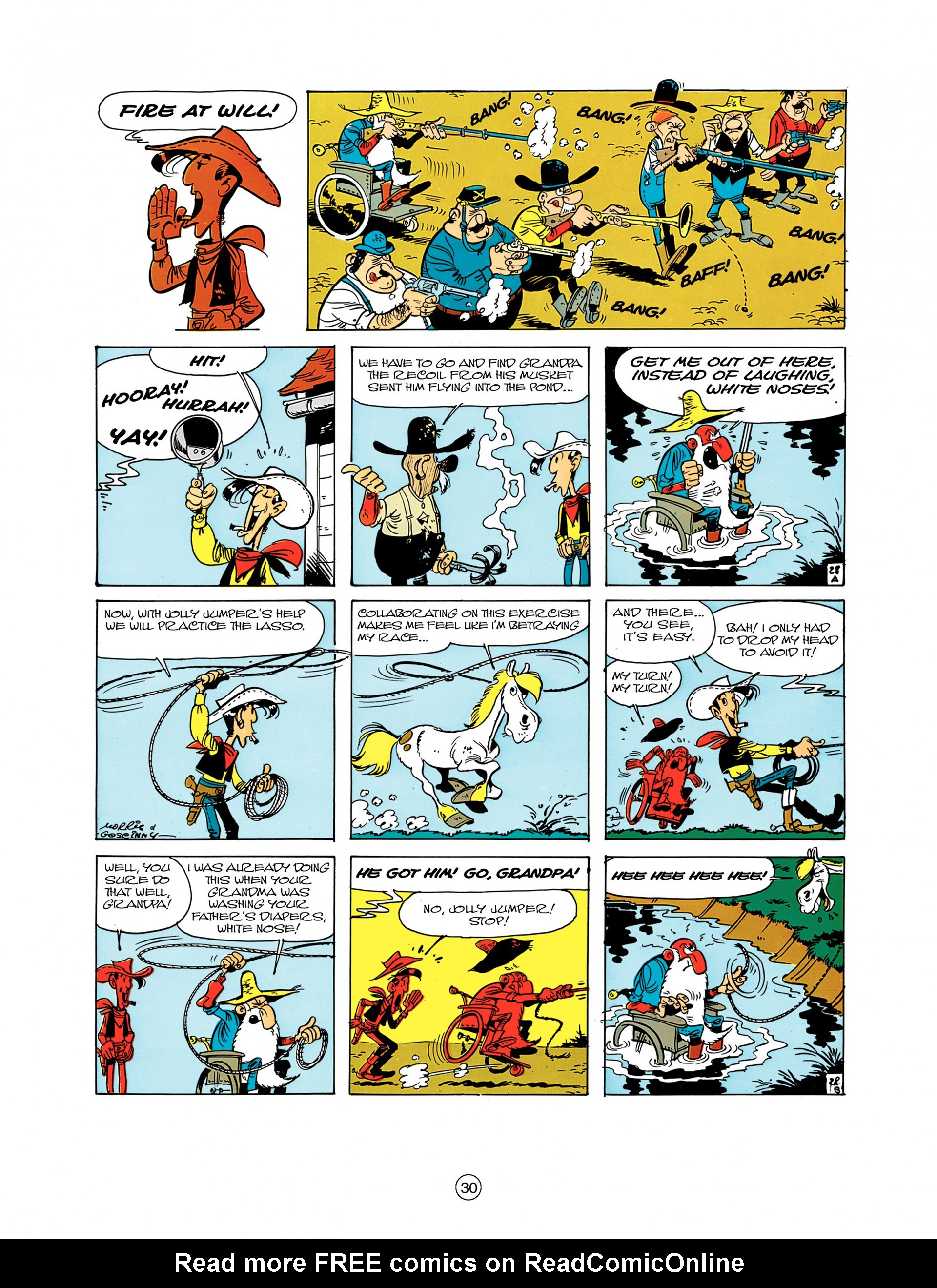 A Lucky Luke Adventure 7 Page 29