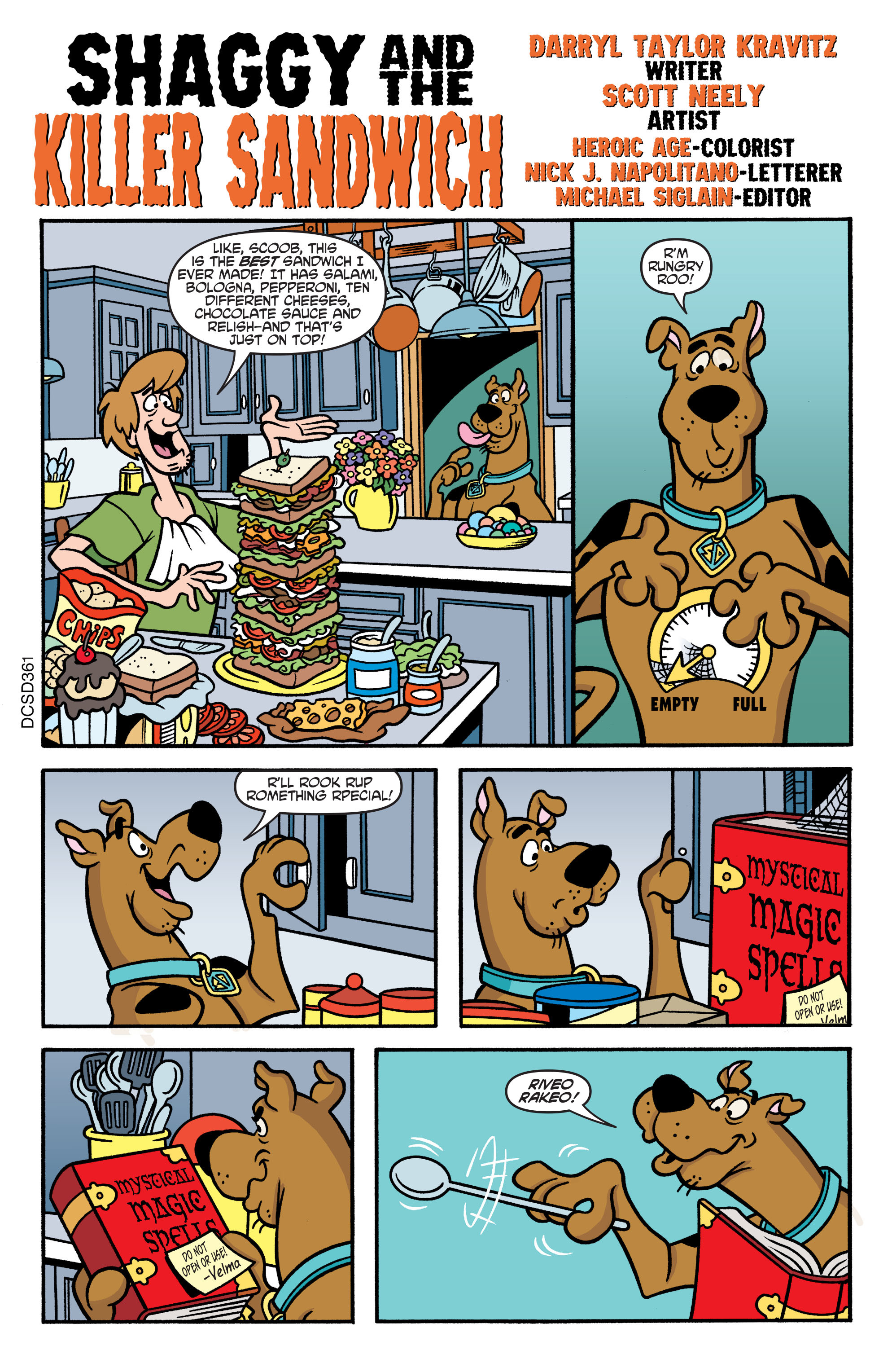 Read online Scooby-Doo: Where Are You? comic -  Issue #61 - 21