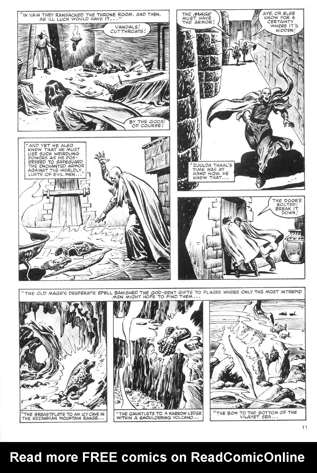 The Savage Sword Of Conan Issue #87 #88 - English 11