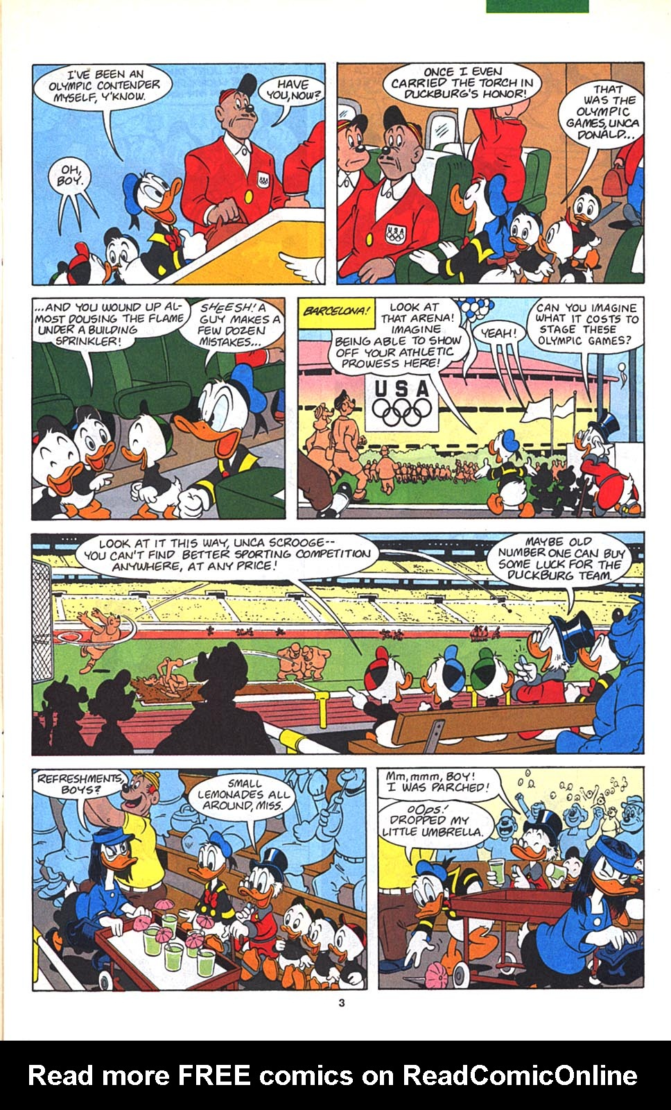 Uncle Scrooge (1953) Issue #270 #270 - English 4