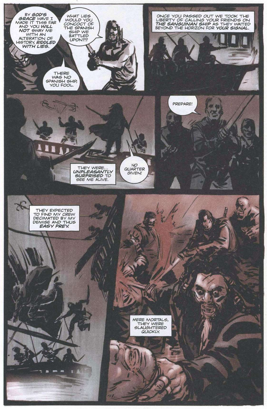 Read online Sea of Red comic -  Issue #6 - 12