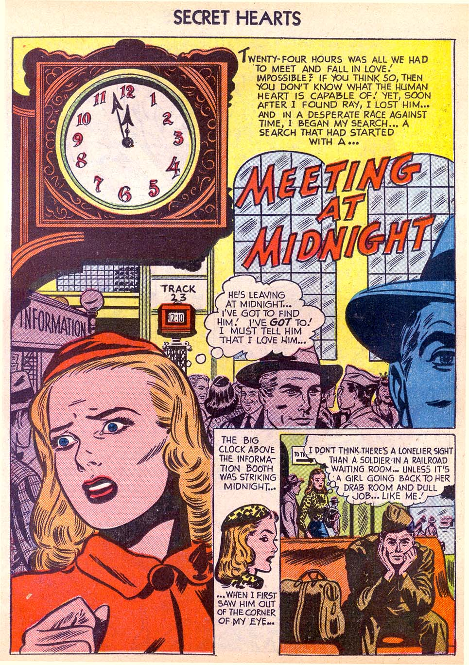 Read online Secret Hearts comic -  Issue #11 - 19