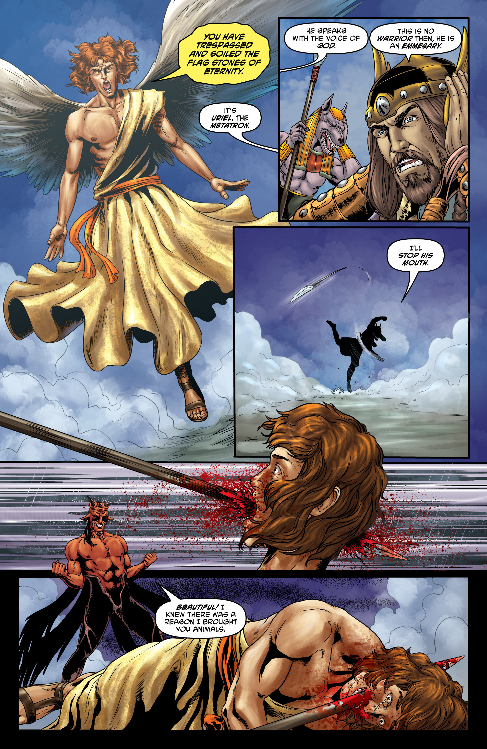 Read online God Is Dead comic -  Issue #47 - 5