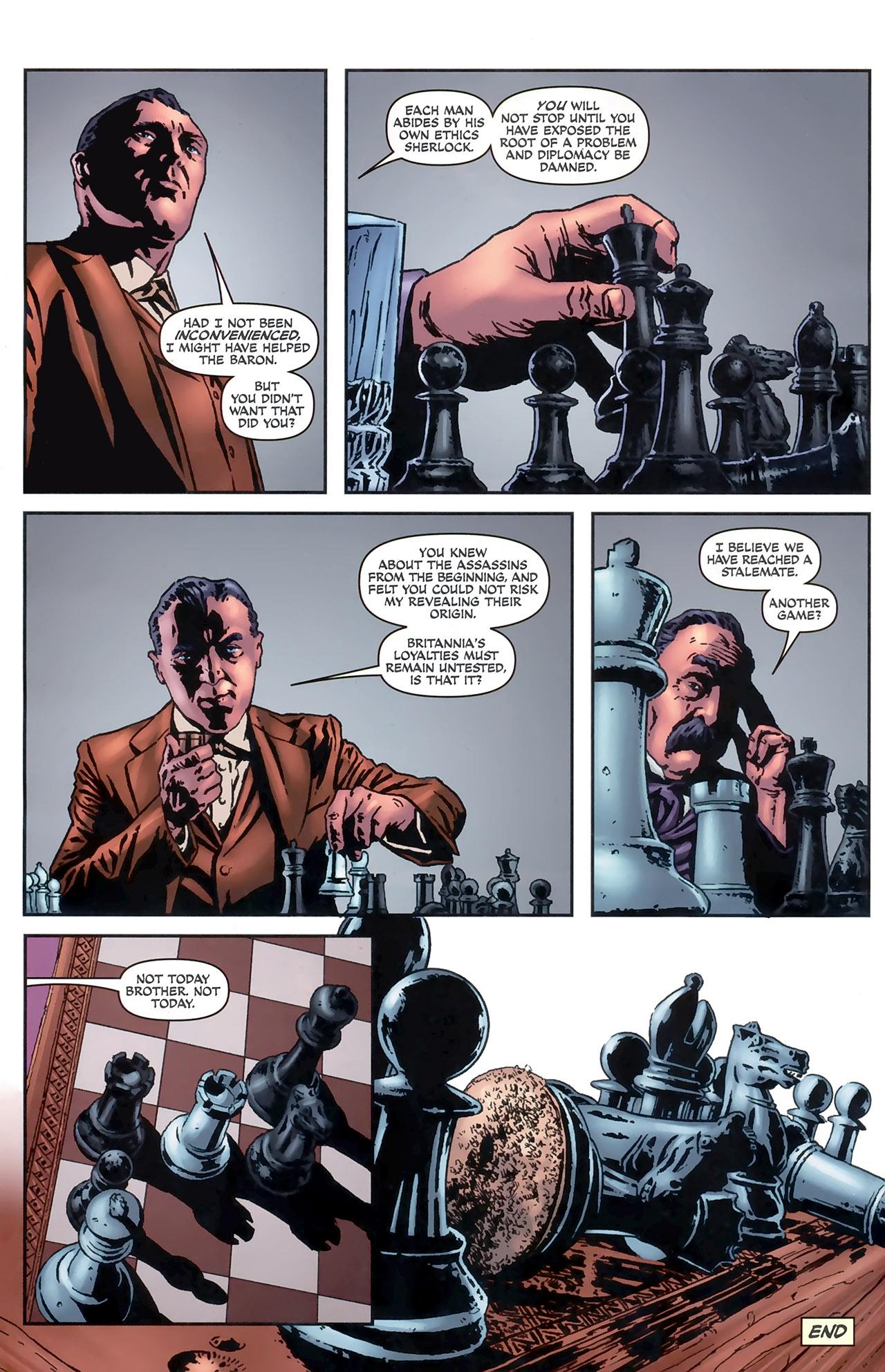 Read online Sherlock Holmes (2009) comic -  Issue #5 - 24