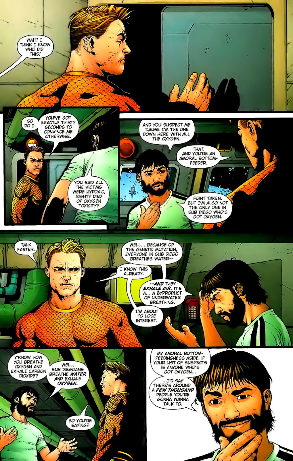 Aquaman (2003) Issue #30 #30 - English 12
