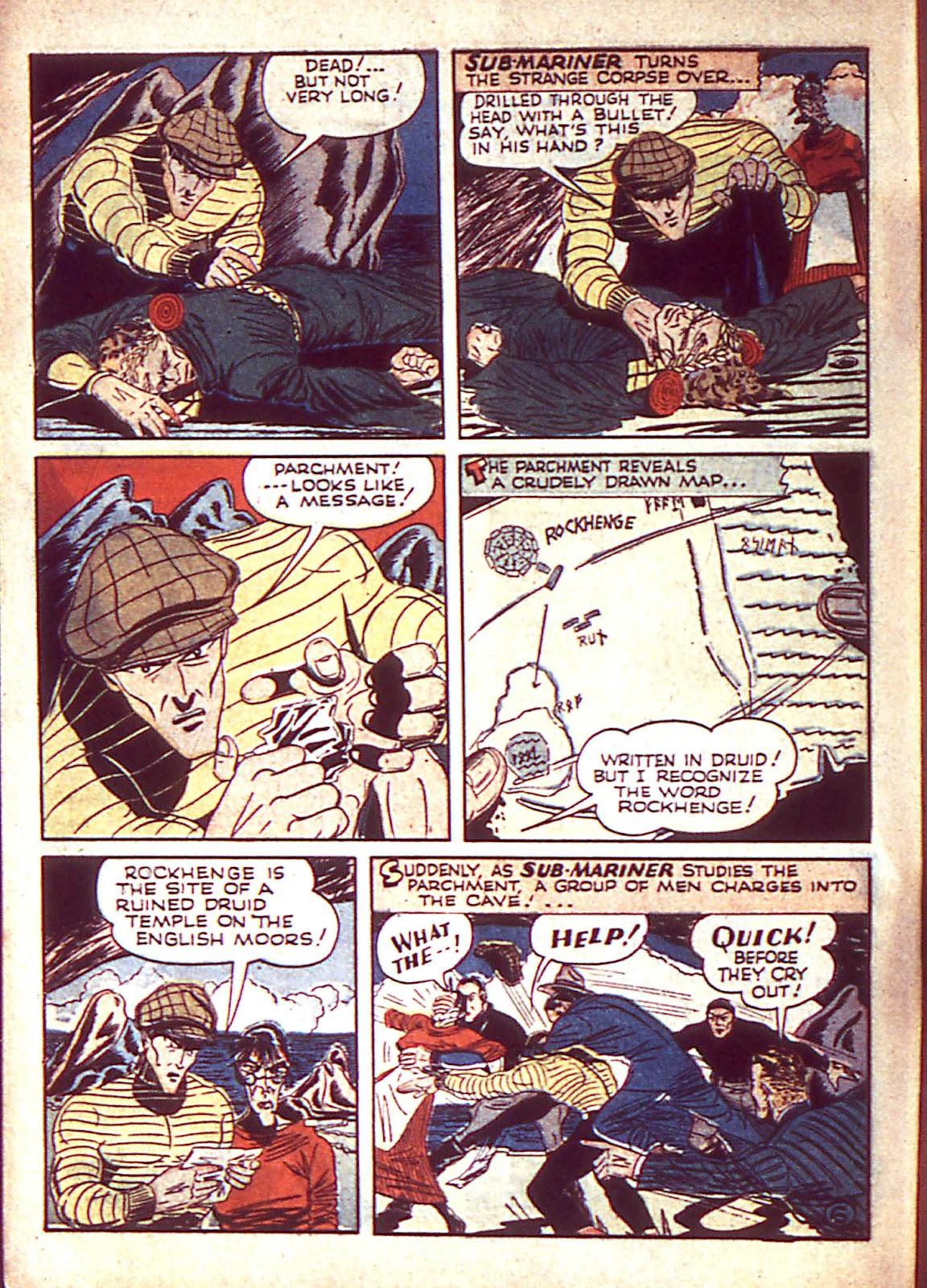 Sub-Mariner Comics Issue #3 #3 - English 9