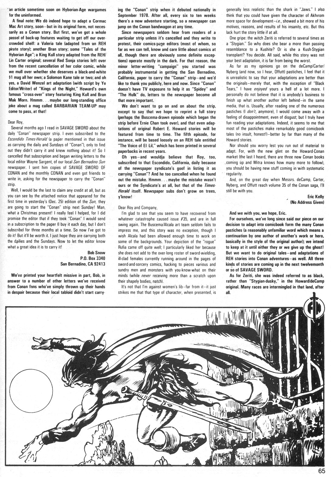 The Savage Sword Of Conan Issue #40 #41 - English 65