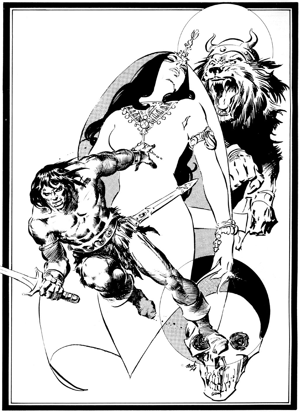 The Savage Sword Of Conan Issue #42 #43 - English 2