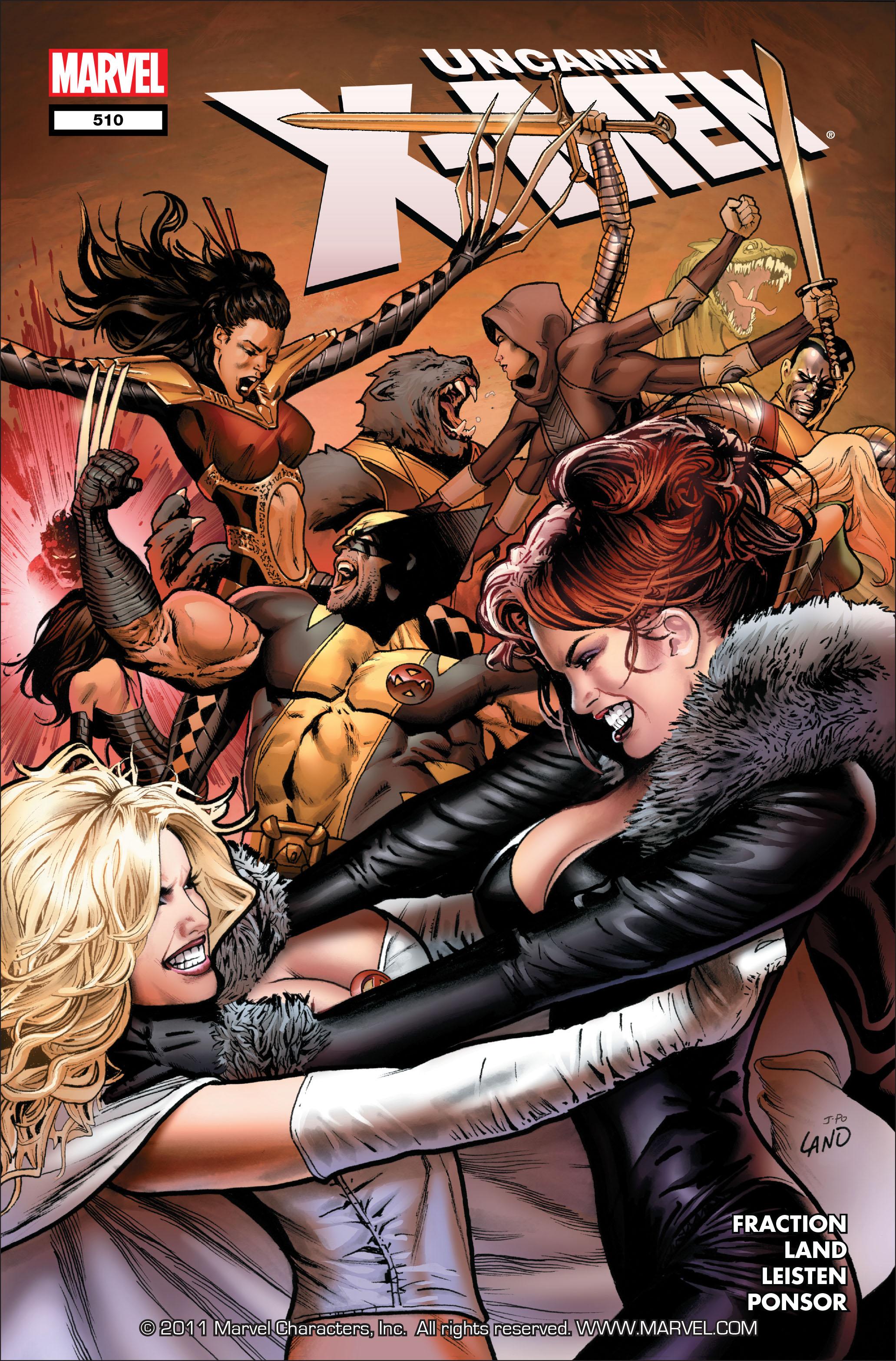 Uncanny X-Men (1963) 510 Page 1