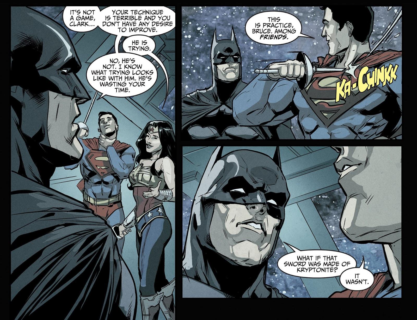 Injustice: Gods Among Us Year Four Issue #10 #11 - English 9