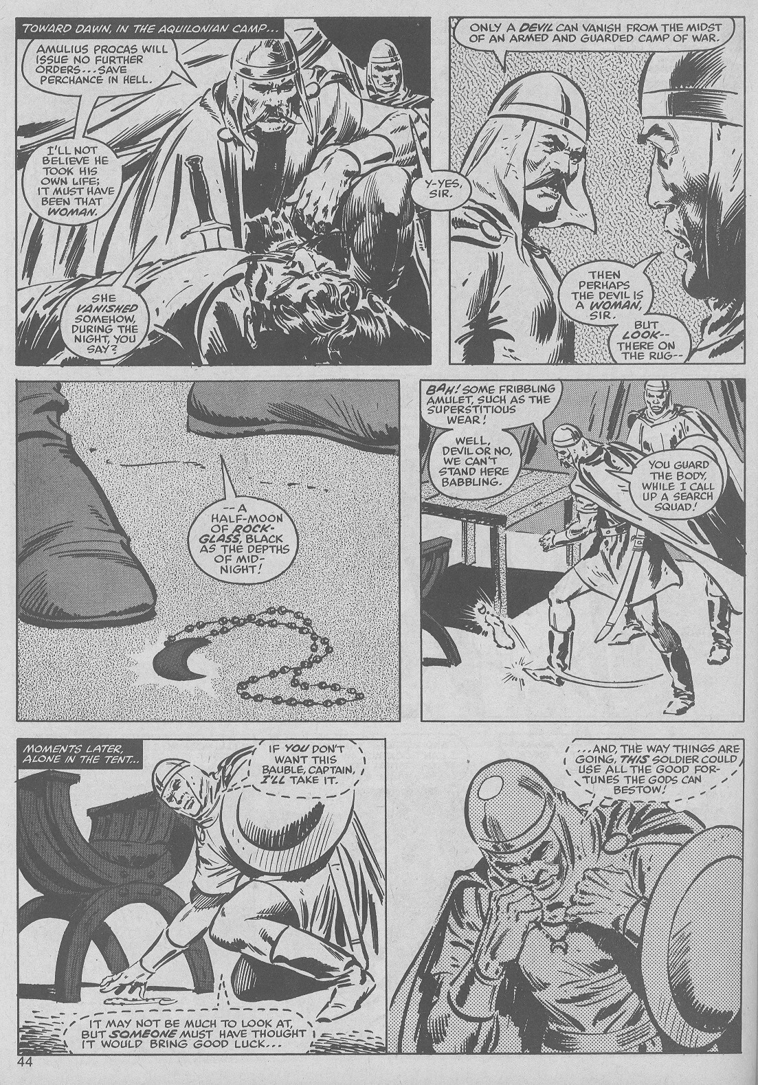The Savage Sword Of Conan Issue #50 #51 - English 44