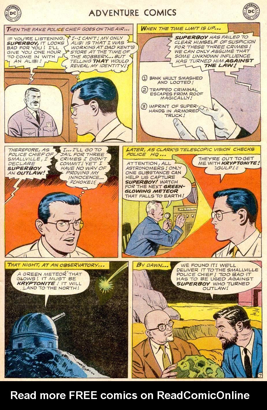 Read online Adventure Comics (1938) comic -  Issue #256 - 9