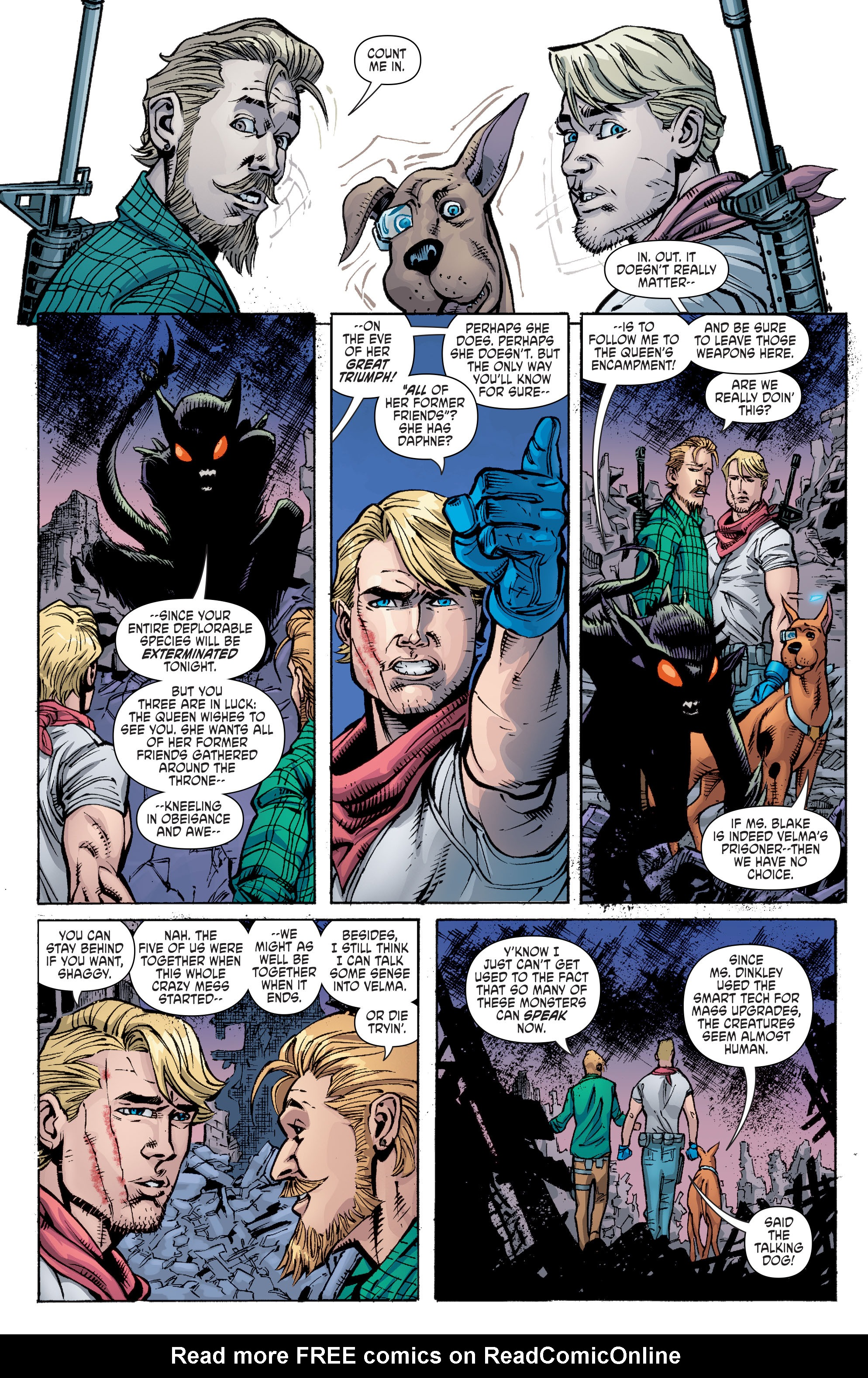 Read online Scooby Apocalypse comic -  Issue #10 - 16