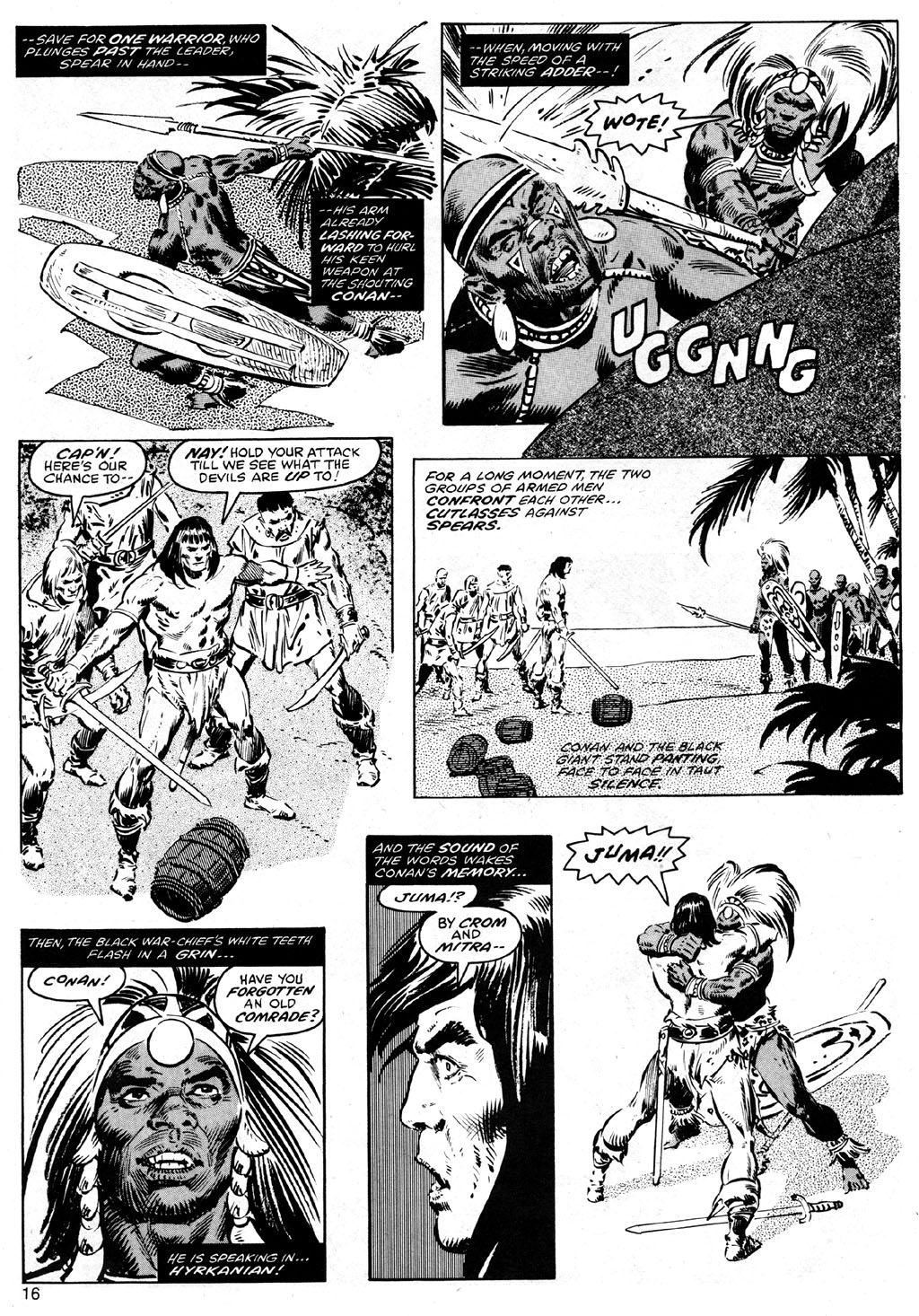 The Savage Sword Of Conan Issue #41 #42 - English 16