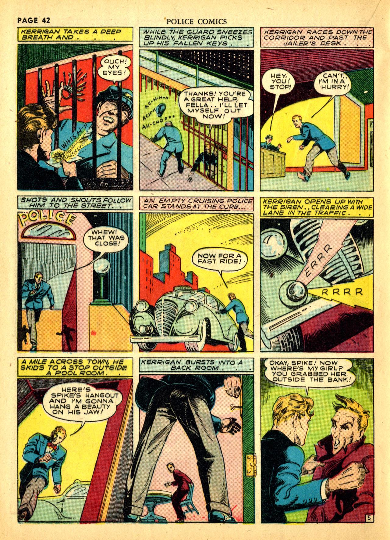 Police Comics #1 #127 - English 45