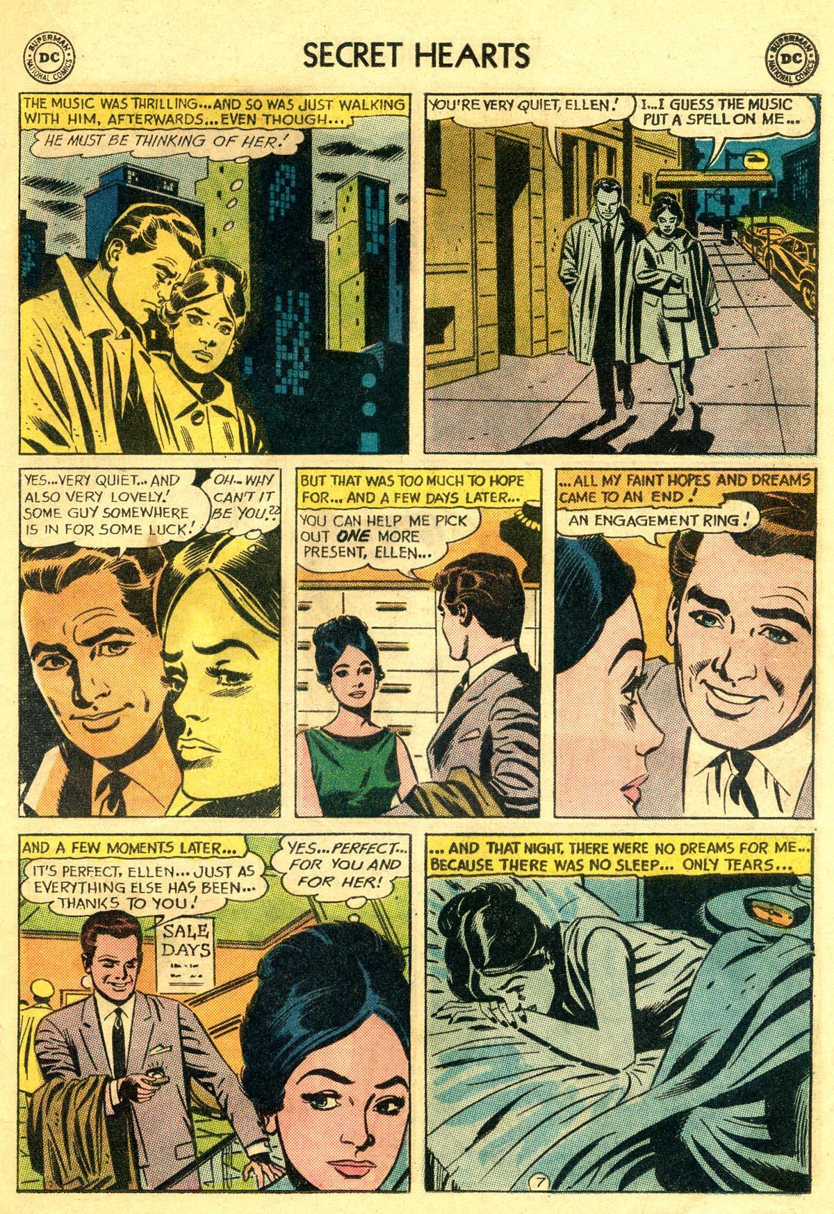 Read online Secret Hearts comic -  Issue #81 - 17