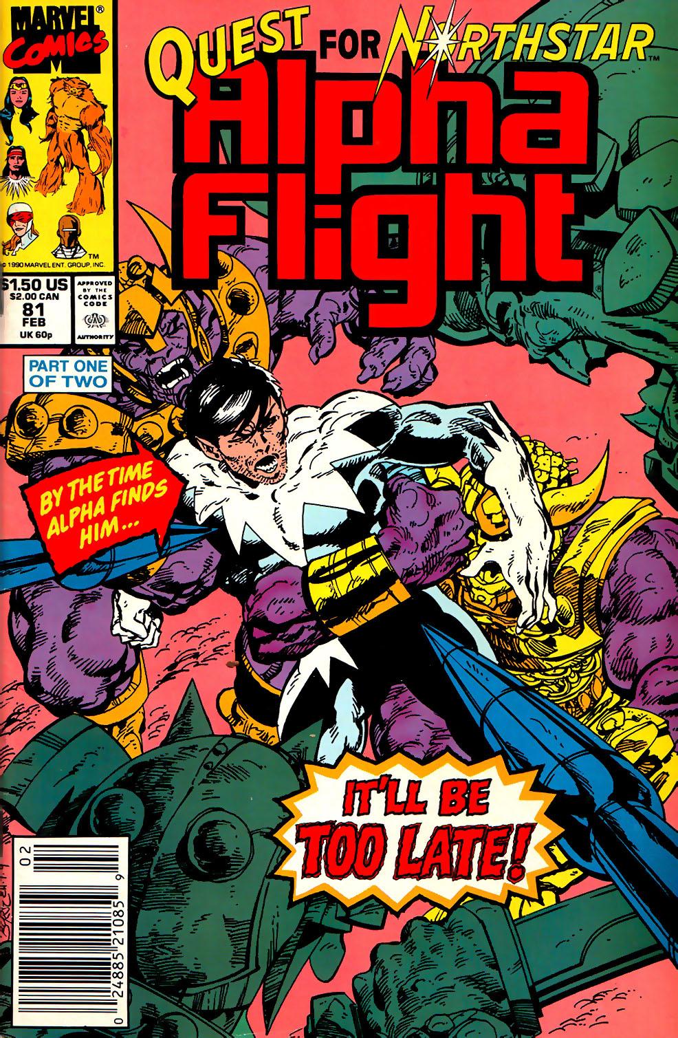 Alpha Flight (1983) 81 Page 1
