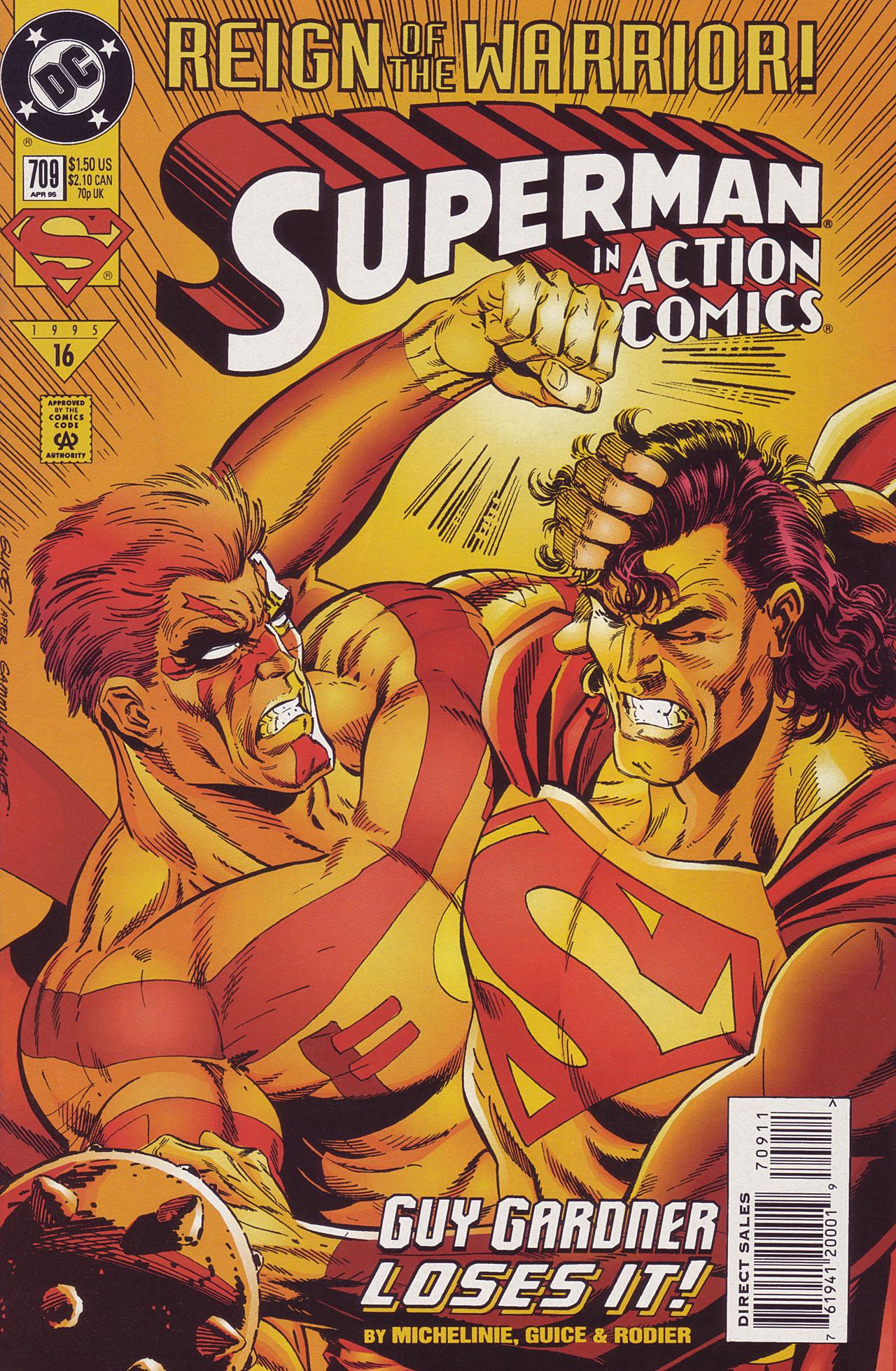Action Comics (1938) 709 Page 1