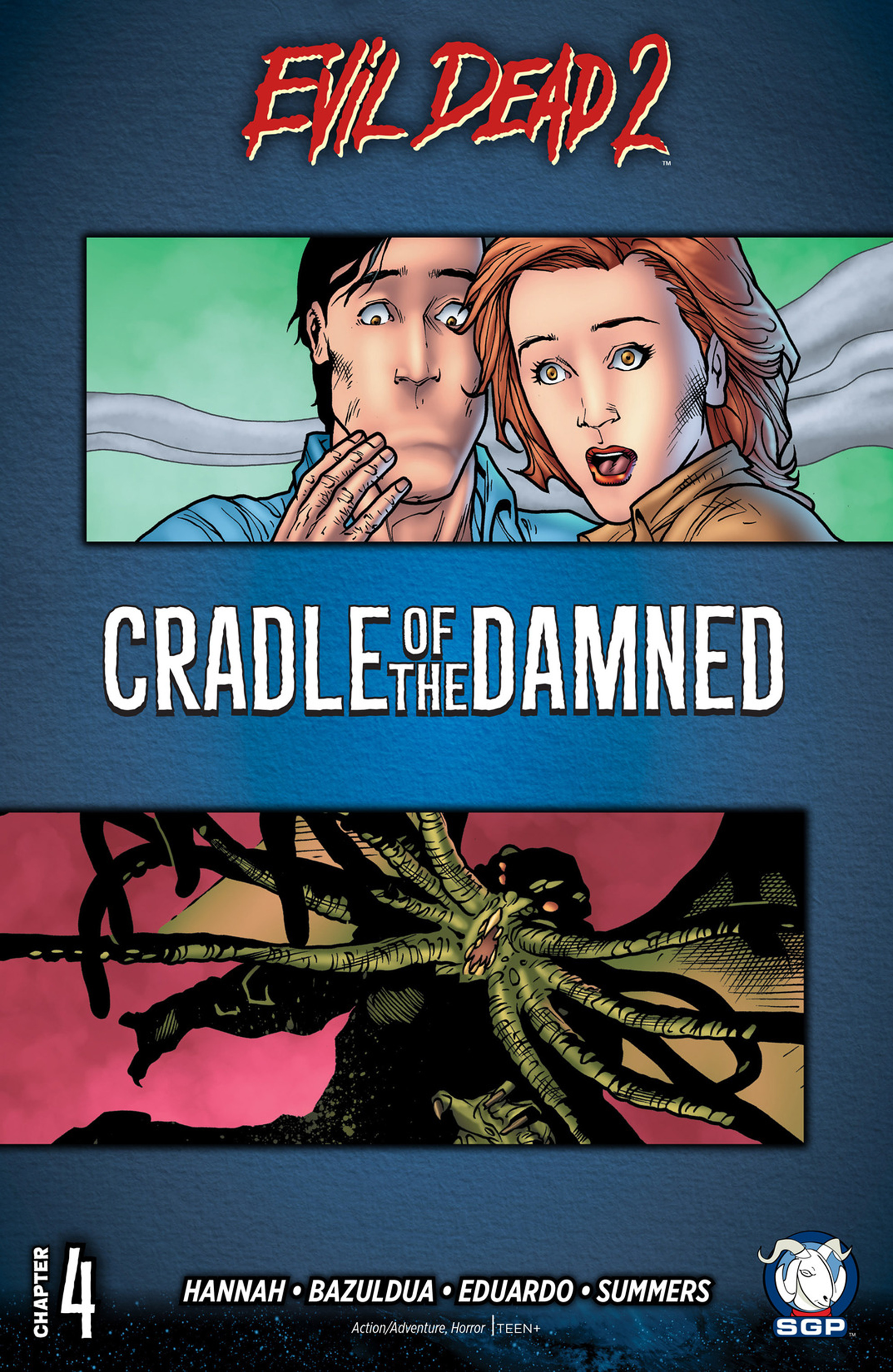 Read online Evil Dead 2: Cradle of the Damned comic -  Issue #4 - 1