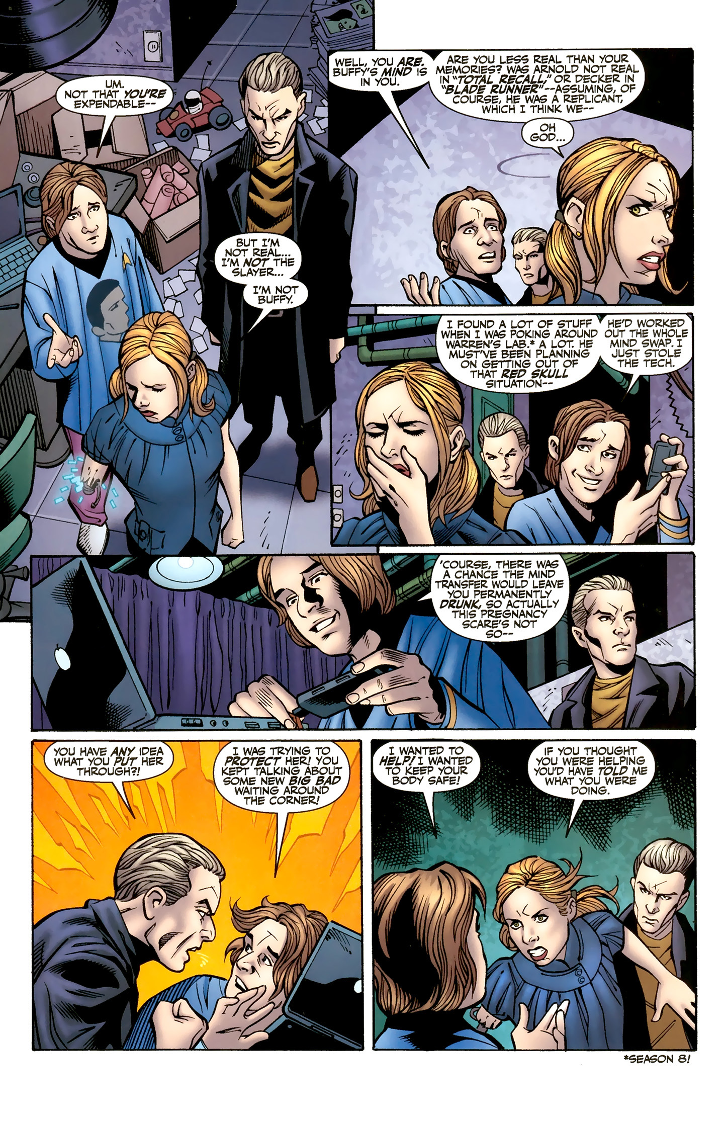 Read online Buffy the Vampire Slayer Season Nine comic -  Issue #8 - 13