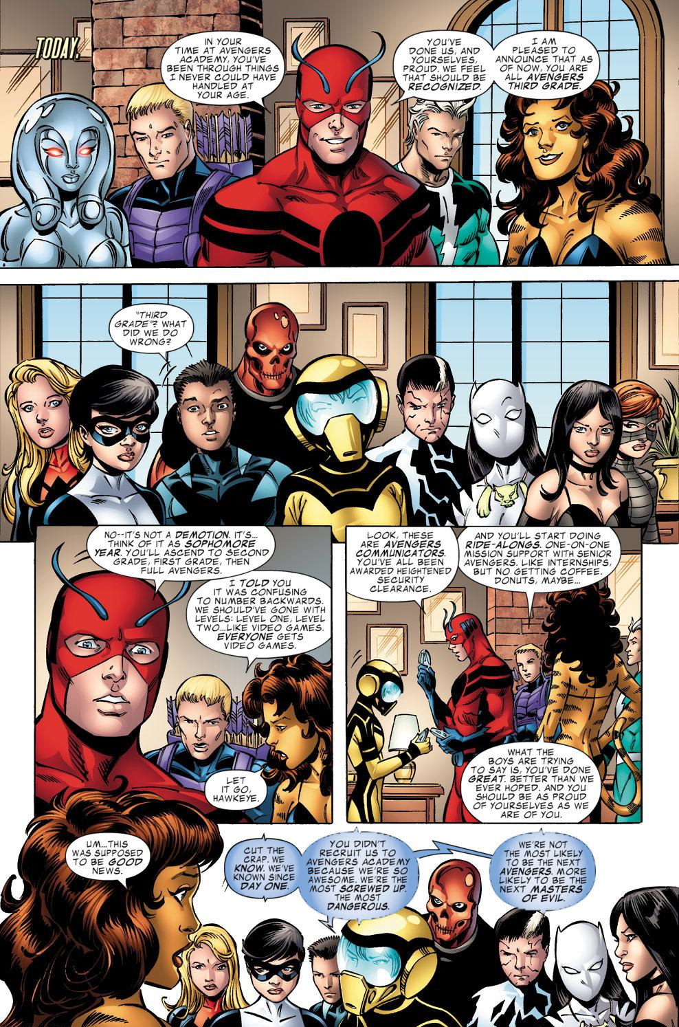 Avengers Academy Issue #39 #40 - English 16